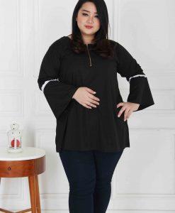 trumpet blouse big size (2)